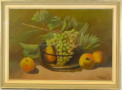 František Vrba - Zátiší s ovocem