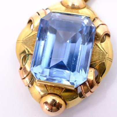 .. - Závěš, zlato 585/1000, značeno platnou puncovní značkou Z-45, hrubá hmotnost 9,96g