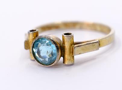 .. - Prsten, stříbro 900/1000, značeno platnou puncovní značkou S-67, hrubá hmotnost 1,82 g