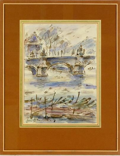 Jan B. Melichar - Loďky u Karlova mostu