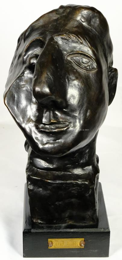 Emil Filla - Kubistická hlava