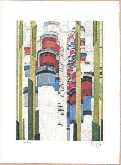 František  Kupka - Aufragende Formen, Ascent