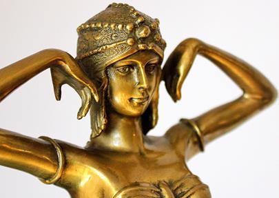 Demetre Haralamb Chiparus - Scarab Dancer