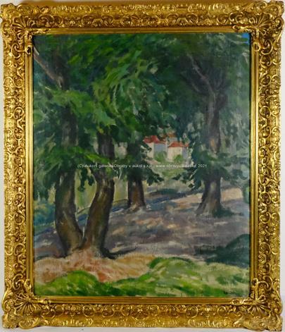 Oldřich Koníček - V zámecké zahradě