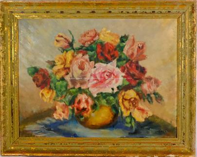 Noe Nordberg - Zátiší s růžemi