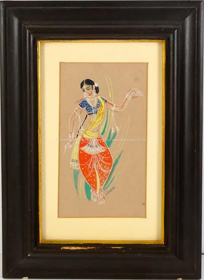 Nagesh - Indická tanečnice