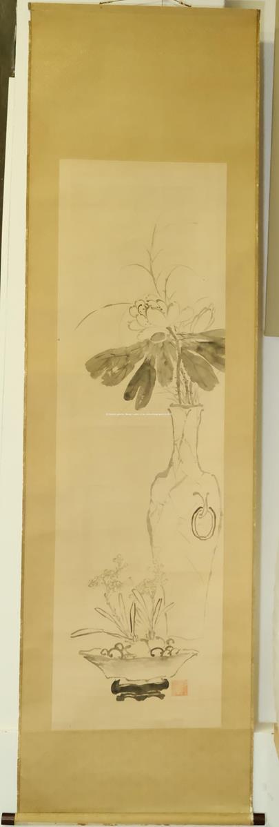 Čínský malíř - Květina ve váze