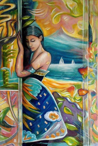 Libor Šmejkal - Dívka v Karibiku