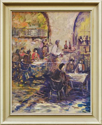 Karel Souček - V kavárně