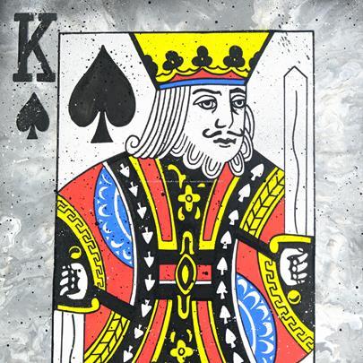 Meon Smells - Royal Flash: King of Spades
