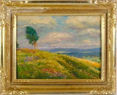 Gustav Macoun - připsáno - Strom ve větru