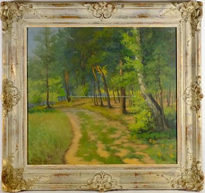 František Krejčí - Cesta lesem