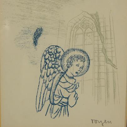 Toyen - Zázrak s andělem