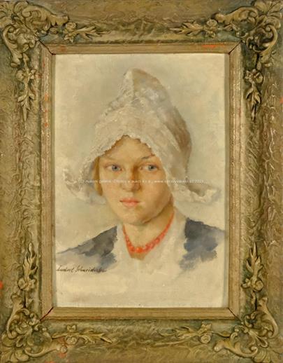 Ludvík Schneiderka - Dívka v čepci