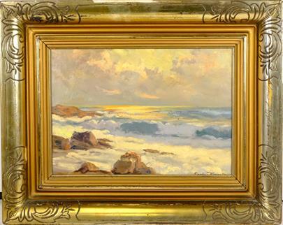 Eugen Karpathy  - Svit na mořském pobřeží