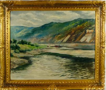 Otakar Nejedlý - Na řece