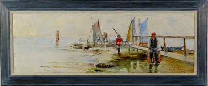 Ernst Svensson - Návrat z rybolovu