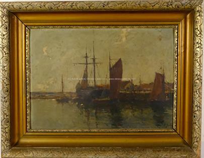 Rudolf Antonín Guba - V přístavu