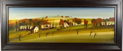 Ilja Hartinger - Podzimní ráno na Valašsku