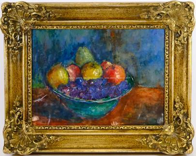 Ferdinand Kotvald - Zátiší s ovocem