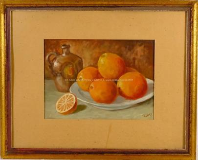 monogram - Zátiší s pomeranči