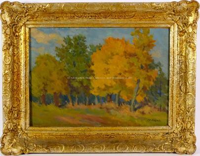 Otakar Hájek - Podzimní les