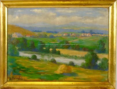 Emanuel Neumann - Krajina s řekou