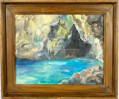 Tereza Sigmundová - Modrá jeskyně - Capri