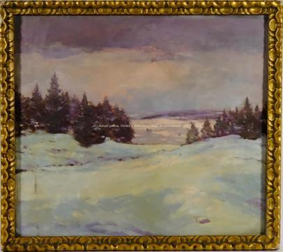 František Ladislav Soukup - Zima v kopcích