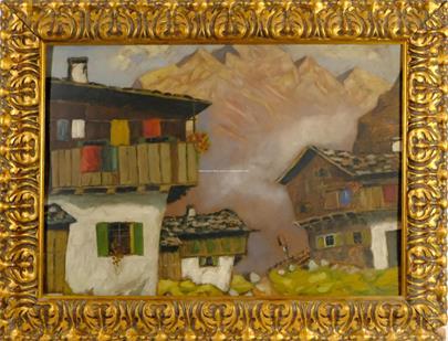 1. pol. 20. století - Chalupy v horách