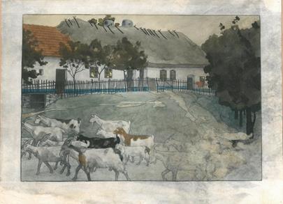 Vojtěch Preissig - Z cyklu Slovácko