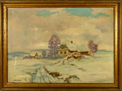 Bohumil Čadek - Zima na samotě