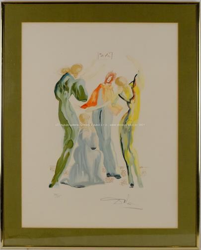 Salvador Dalí - Ukřižování
