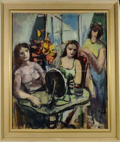 Emil Weirauch - Ranní toaleta tří dívek