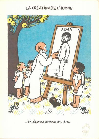 Jean Effel - Kreslí jak Bůh