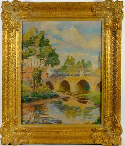 Jindřich Fürst - Kamenný most přes řeku