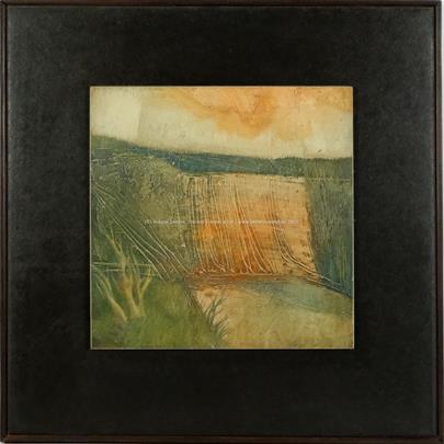 Alfréd Kindler - Krajina na podzim