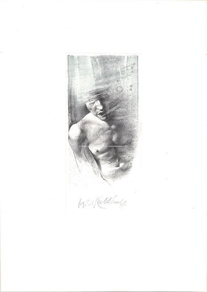 Oldřich Kulhánek - Torzo zraněného muže