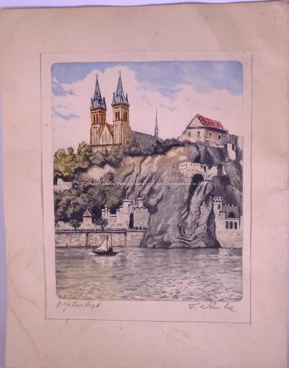 Emil Wänke, Vladislav Röhling - Konvolut 6 grafických listů