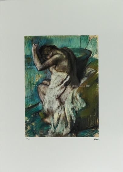 Edgar Degas - Zahalená