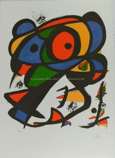 Joan Miró - Barevná kompozice