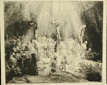 Rembrandt van Rijn - Tři kříže