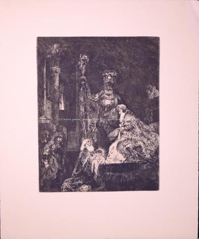 Rembrandt van Rijn - Konvolut 2 grafických listů
