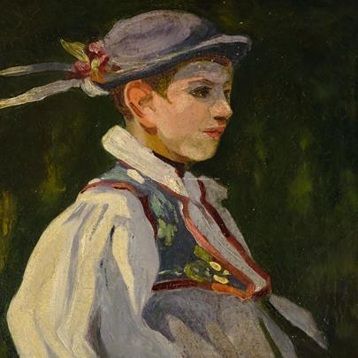 nesignováno - Krojovaný chlapec