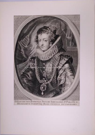 nesignováno - Alžběta Bourbonská