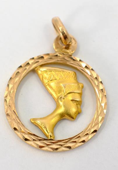 .. - Přívěšek, zlato 585/1000, značeno platnou puncovní značkou lyra, hrubá hmotnost 2,35 g