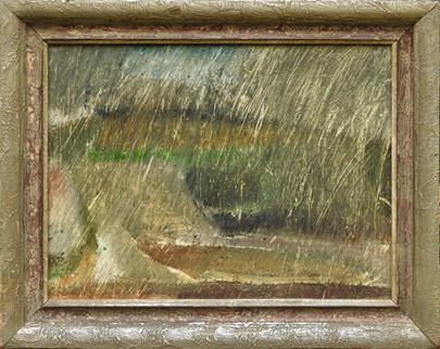 Jiří John - Krajina v dešti