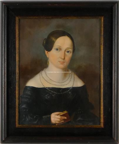 19. století - Portrét dámy