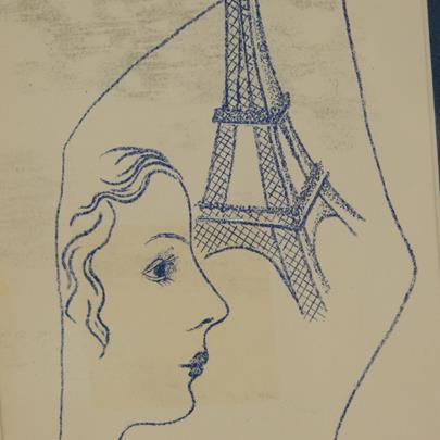 Toyen - Pod Eiffelkou
