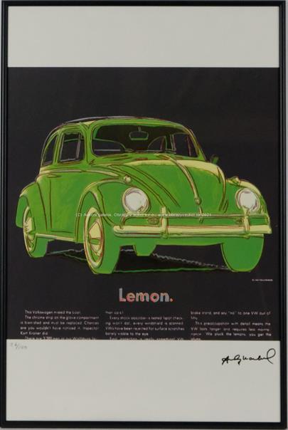 Andy Warhol - Lemon